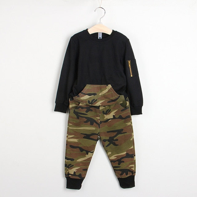 Boys Clothing Sets New Autumn Fashion Style Long Sleeve Boys Clothes Cartoon p2589black az1765a / 7Buy mate
