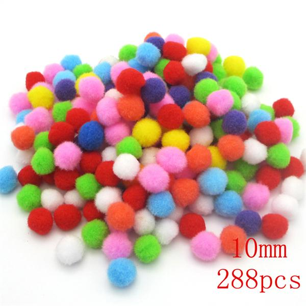 Multi Size Colorful Pompoms DIY Dolls Garment Handmade