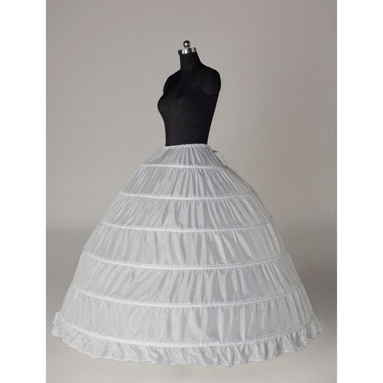 Marriage Adjustable Ball Gown Bridal Wedding Petticoat Underskirt