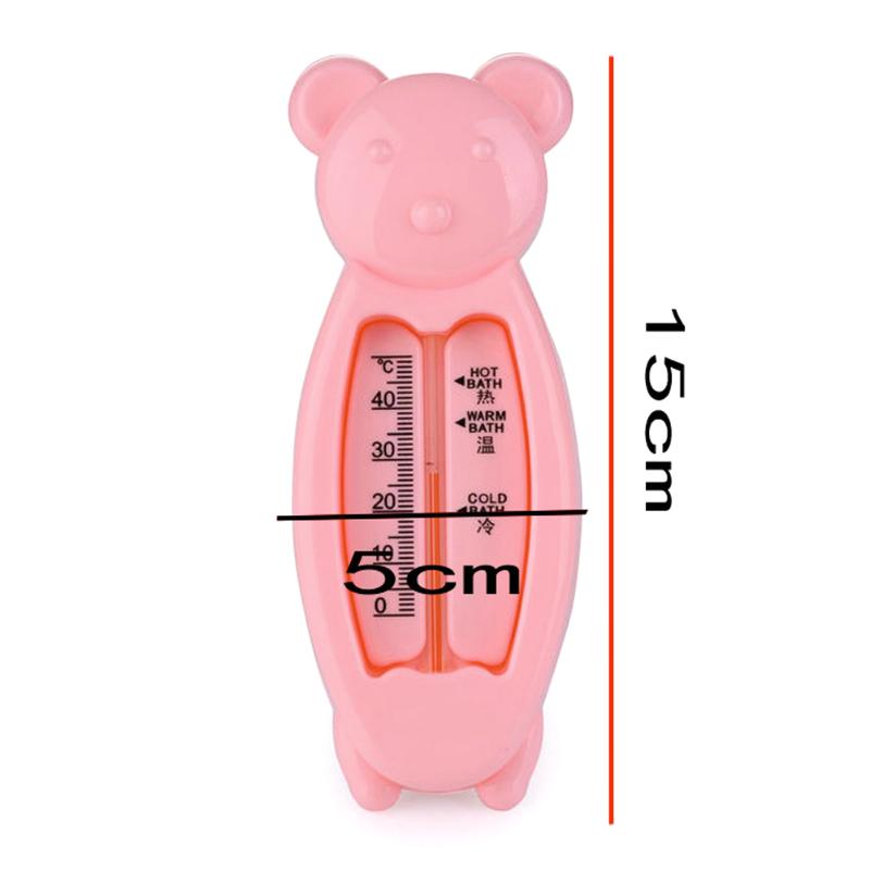 Baby Bear Shape Lovely Plastic Float Bath Tub Water Sensor