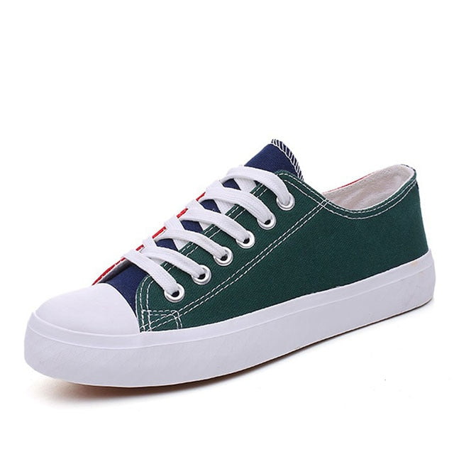 Women's vulcanized shoes Fashion Canvas Shoes Woman Sneakers