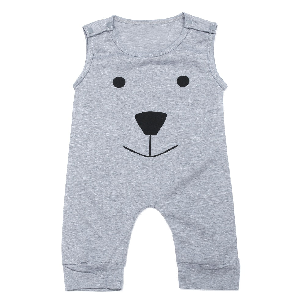 Newborn Baby Cute Romper Clothing Infant Rompers Cute Toddler Baby Girl Boy Bear Jumpers p2569