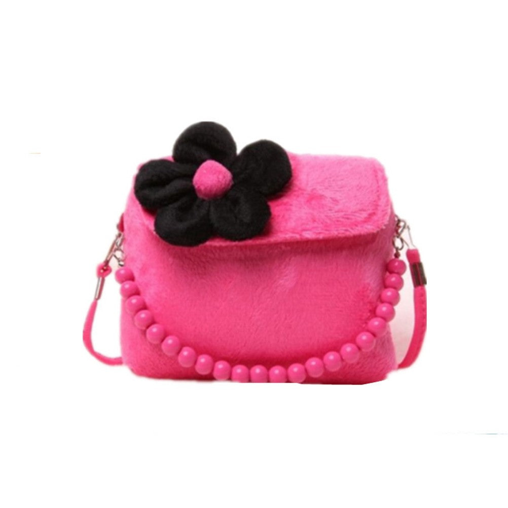 "Girl ´s Shoulder Bag Beaded Handbag Cute Princess Package p2637rose red / 5.5""* 1.6""* 4.7""Buy mate"