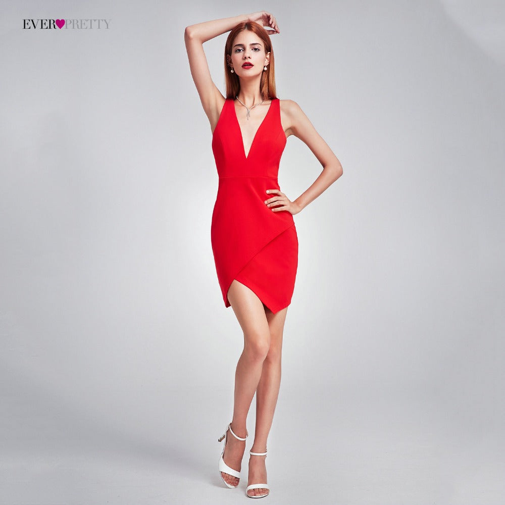 valentine day Sexy Cocktail Dress Sexy New Formal Dress