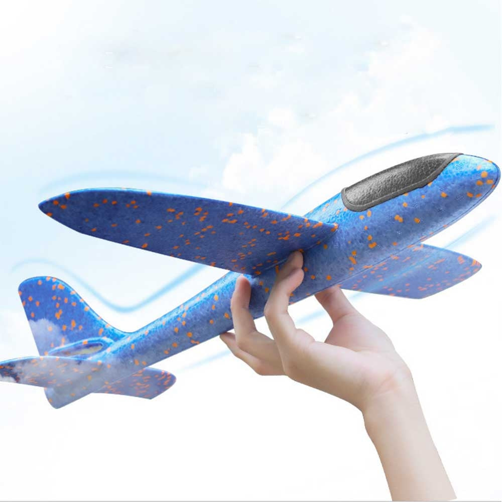 35CM DIY Kids Toys Hand Throw Flying Glider Planes Foam Aeroplane Model Party Bag p2614