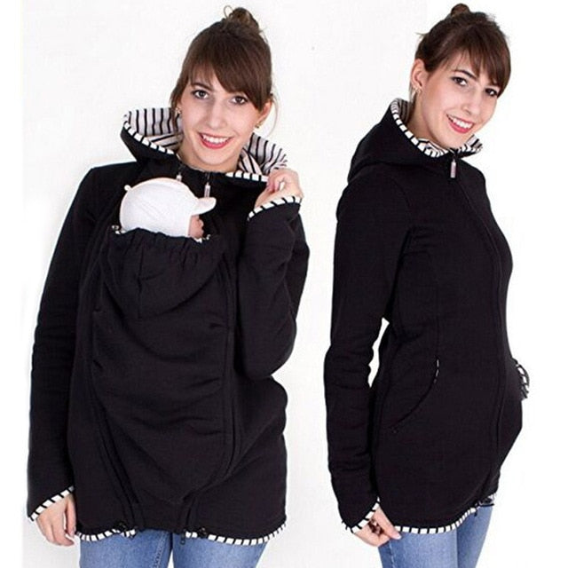 Maternity Coats Long Sleeve Winter Jacket For Pregnant Outerwear