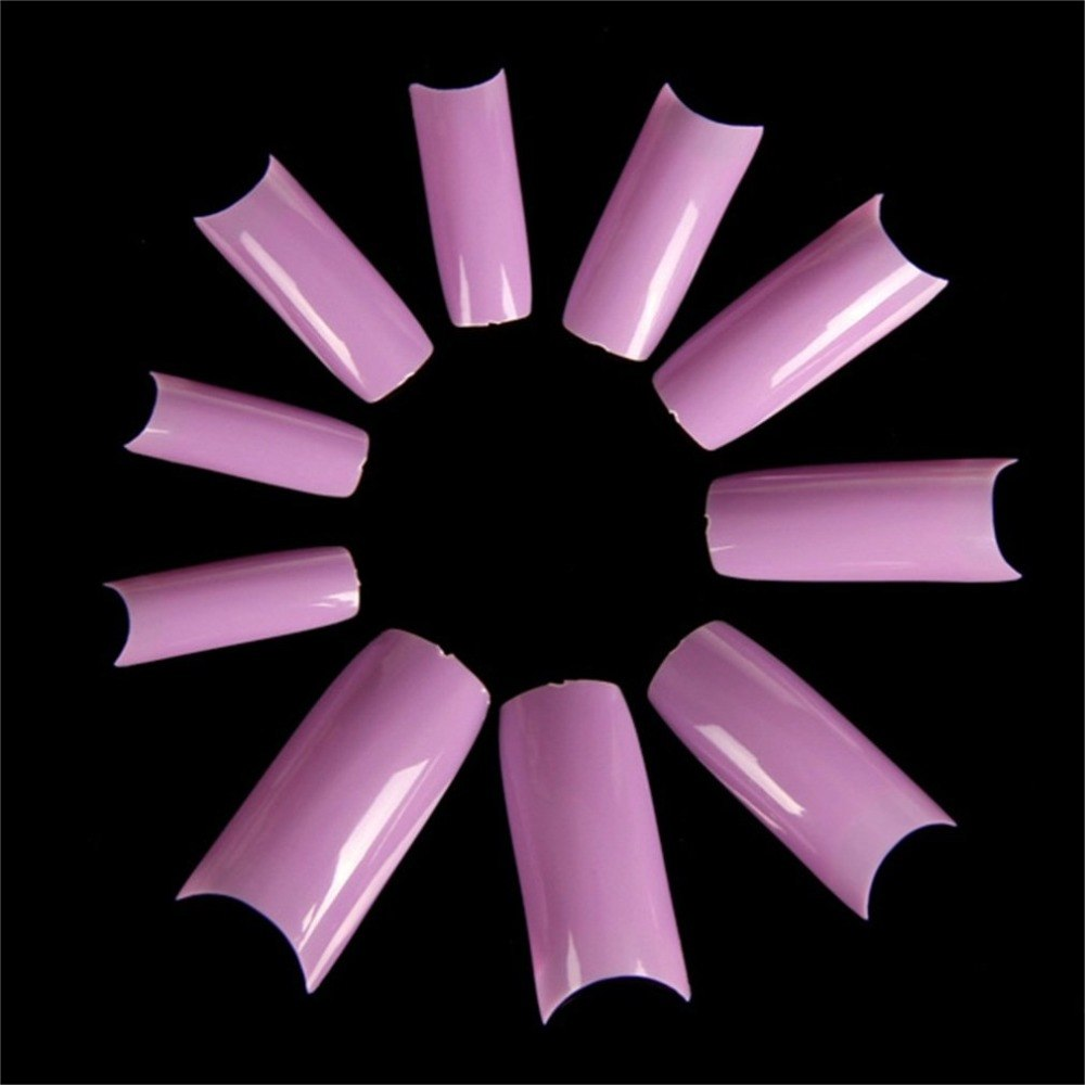 500 Pcs French Style False Half Acrylic Nail Artificial Fake Nail Art Tips Gel p3645Buy mate