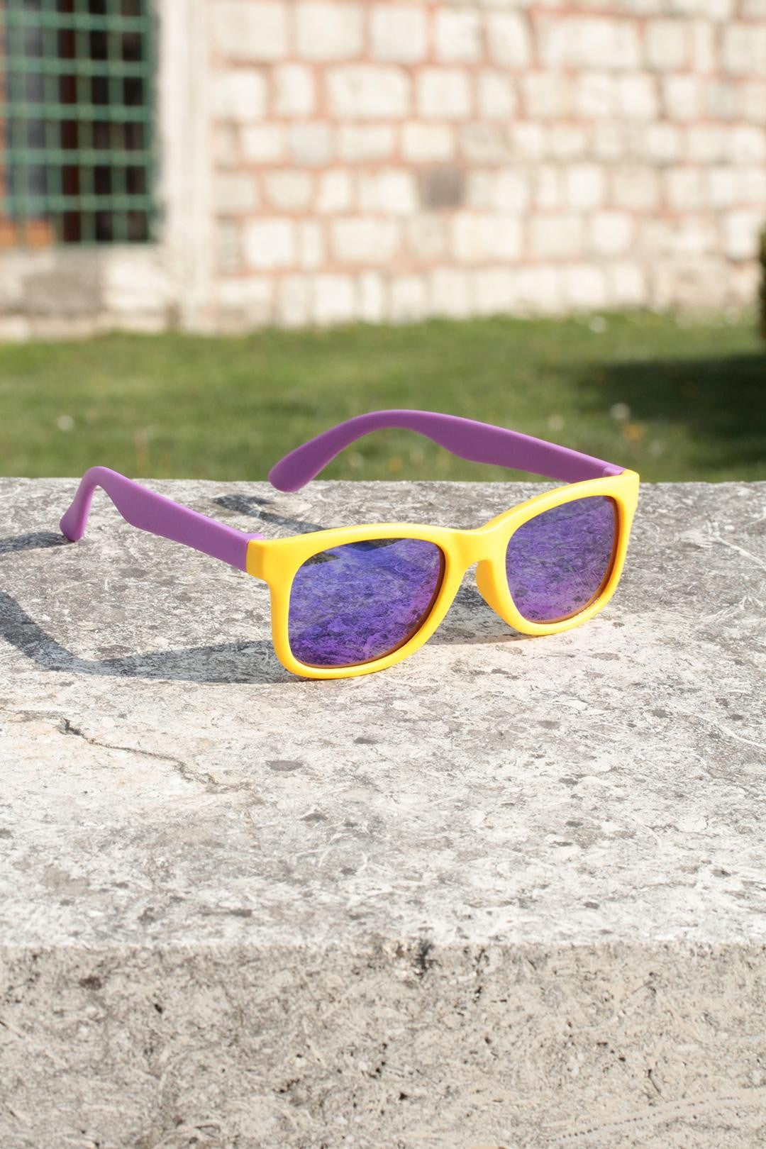 Kid's Detailed Trendy Sunglasses p6088