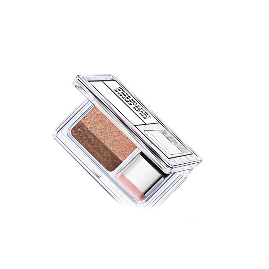 Eyeshadow Gradual Change Eyeshadow Makeup Cosmetics with Brush p3245earth color / one sizeBuy mate