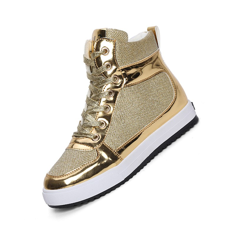 women's casual shoes high-top lace heavy-bottomed canvas shoes