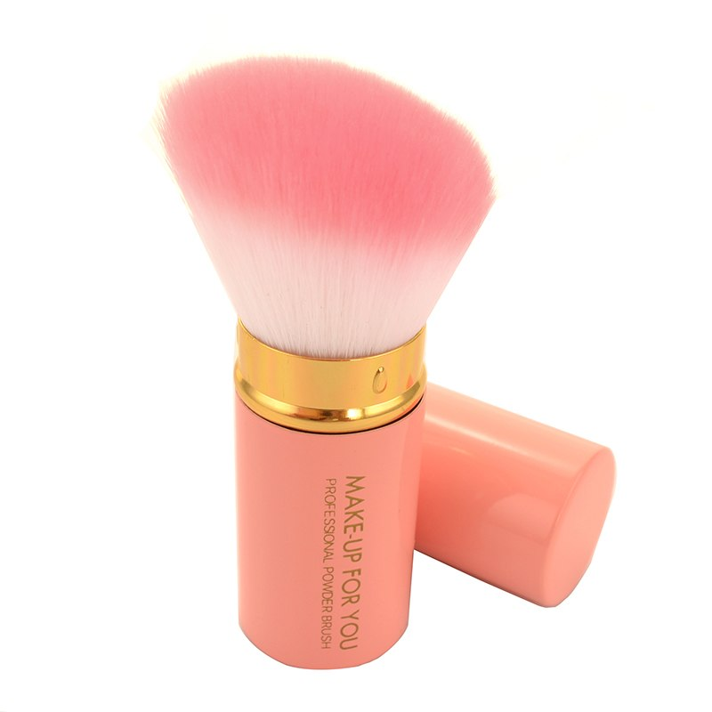 Fashion Portable Retractable Makeup Brush Professional Cosmetic Foundation Blusher Face Brushes p3886Buy mate