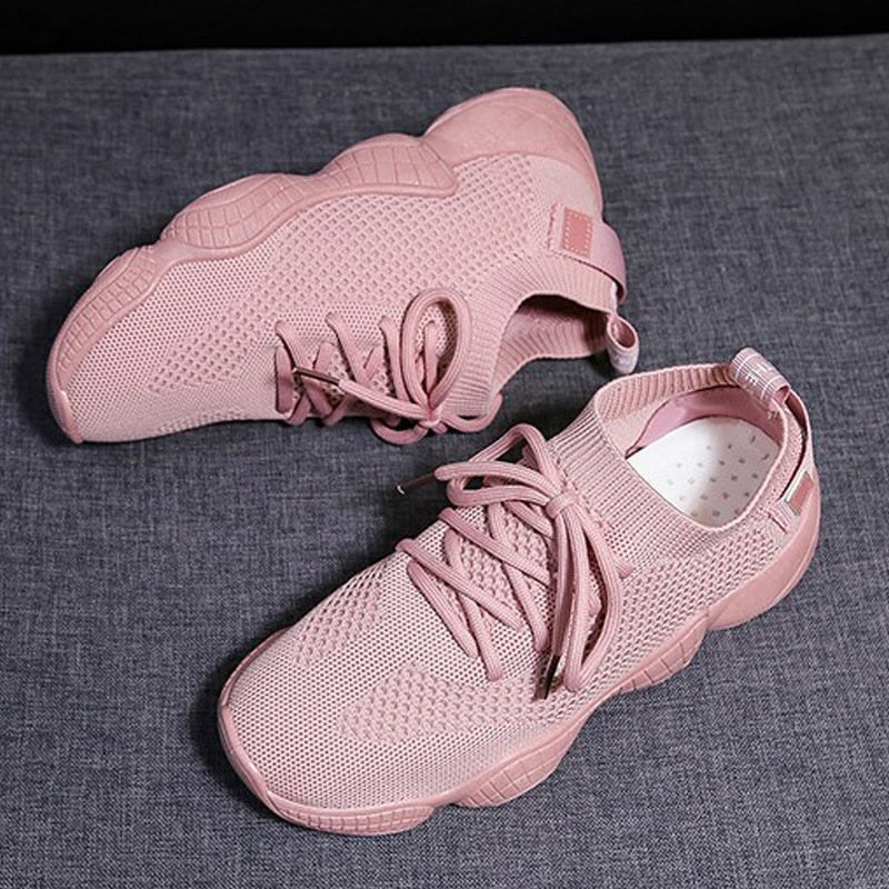 Women Sneakers Ladies Casual Shoes Mesh Women Shoes Platform