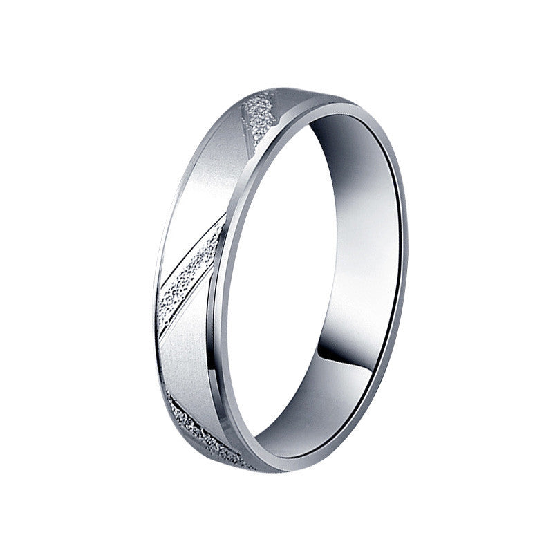 925 sterling silver couple ring men and women for male wedding jewelry R4343S
