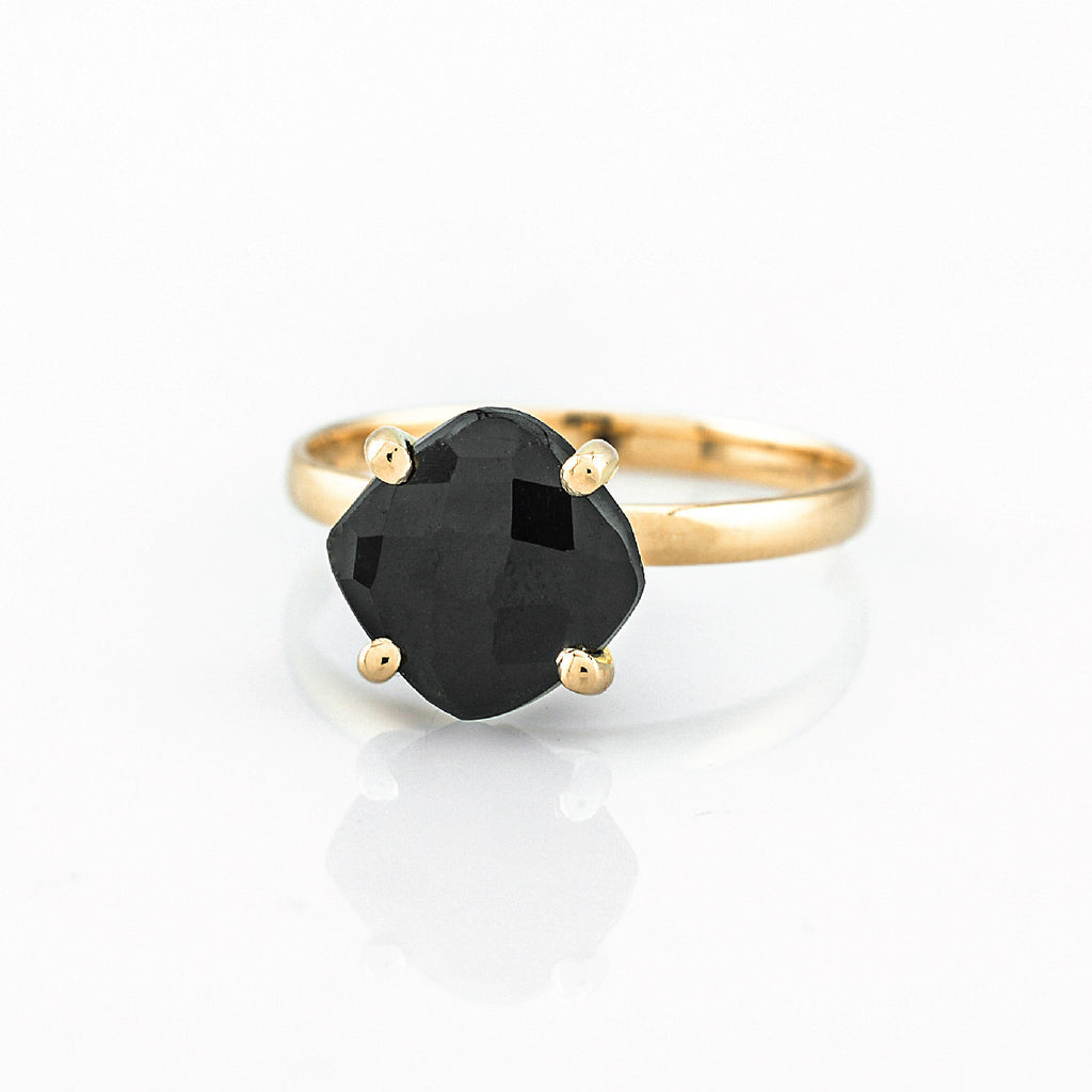 SJK Rocks - Black Onyx Stacking Ring