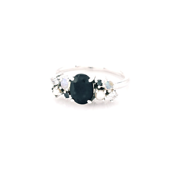Scatter Sparkle Black Onyx Ring