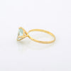 Aqua Marine Stacking Ring