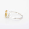 Oval Citrine Stacking Ring
