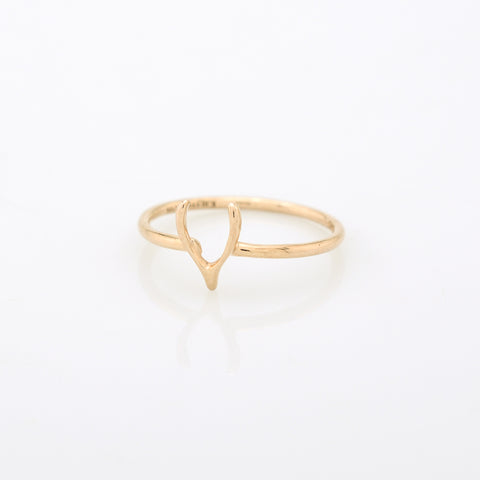 Wishbone Stacking Ring