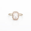 Morganite Sparkle Rings