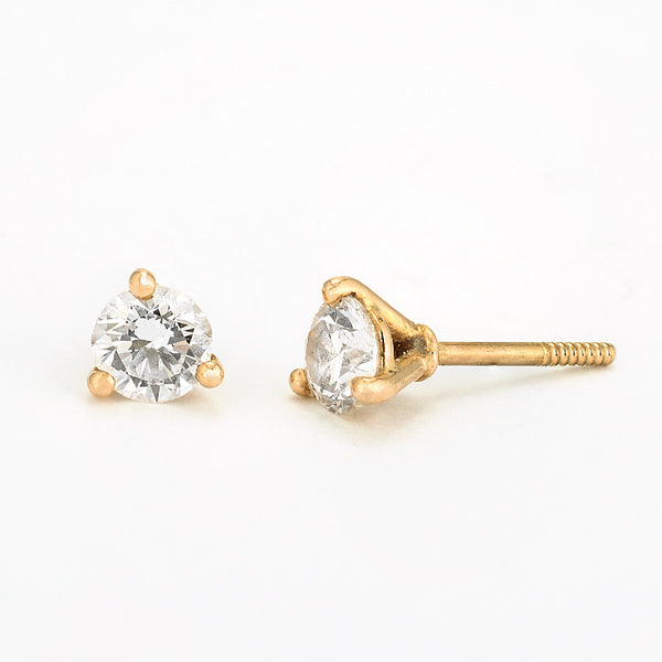 SJK Rocks - Diamond Stud Earrings