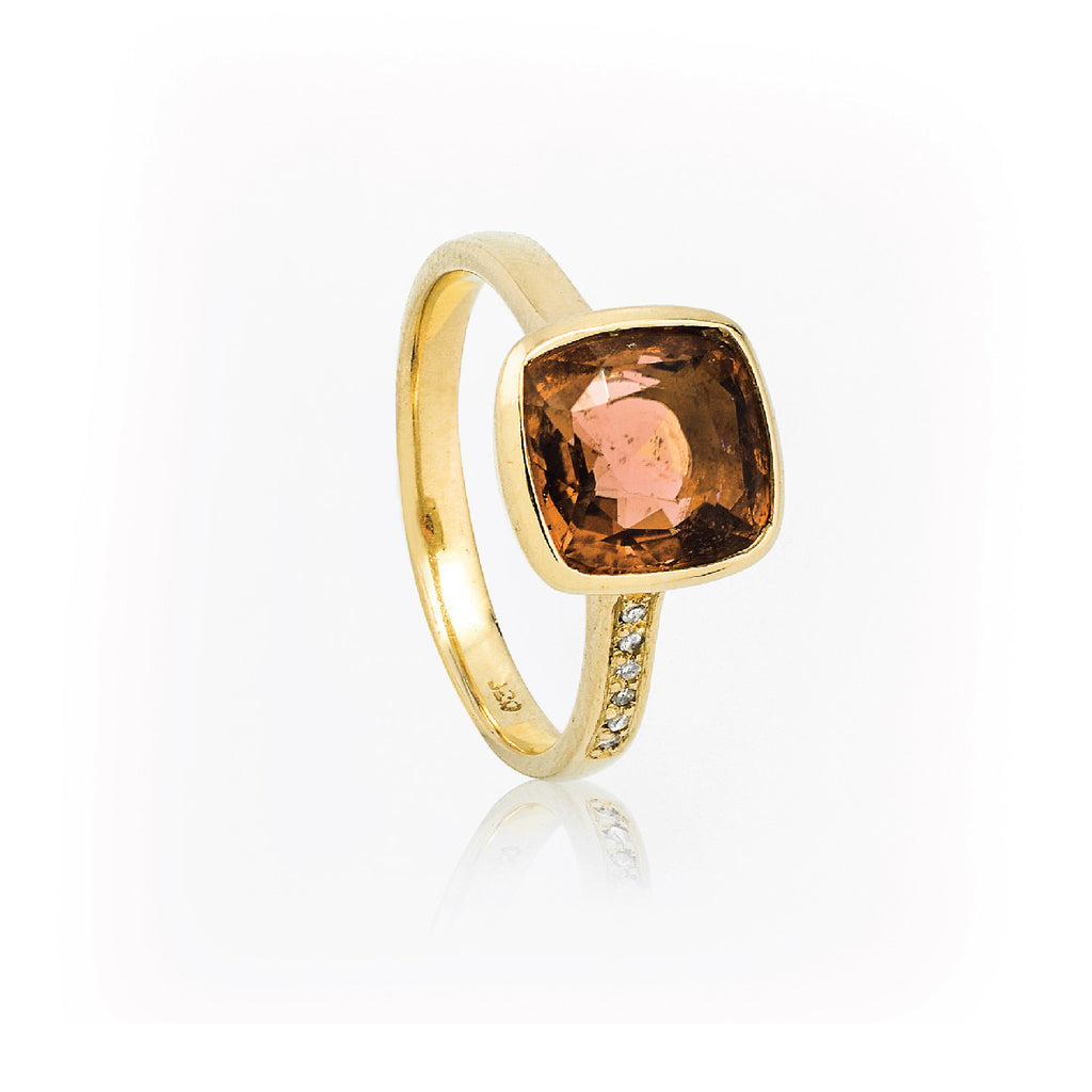 SJK Rocks - Garnet Stacking Ring