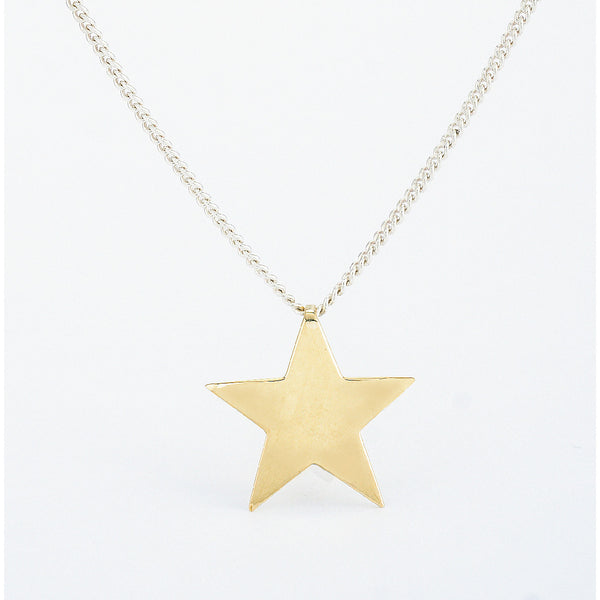 SJK Rocks - Gold Star Pendant
