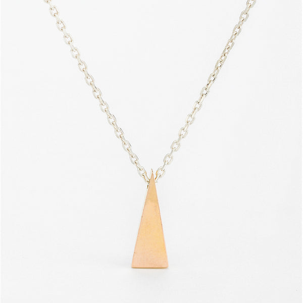 SJK Rocks - Gold Zen Triangle Pendant