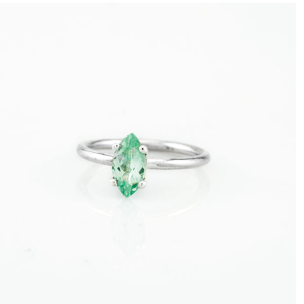 SJK Rocks - Green Fluorite Stacking Ring
