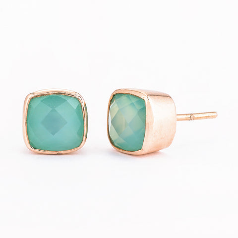 SJK Rocks - Green Onyx Earrings