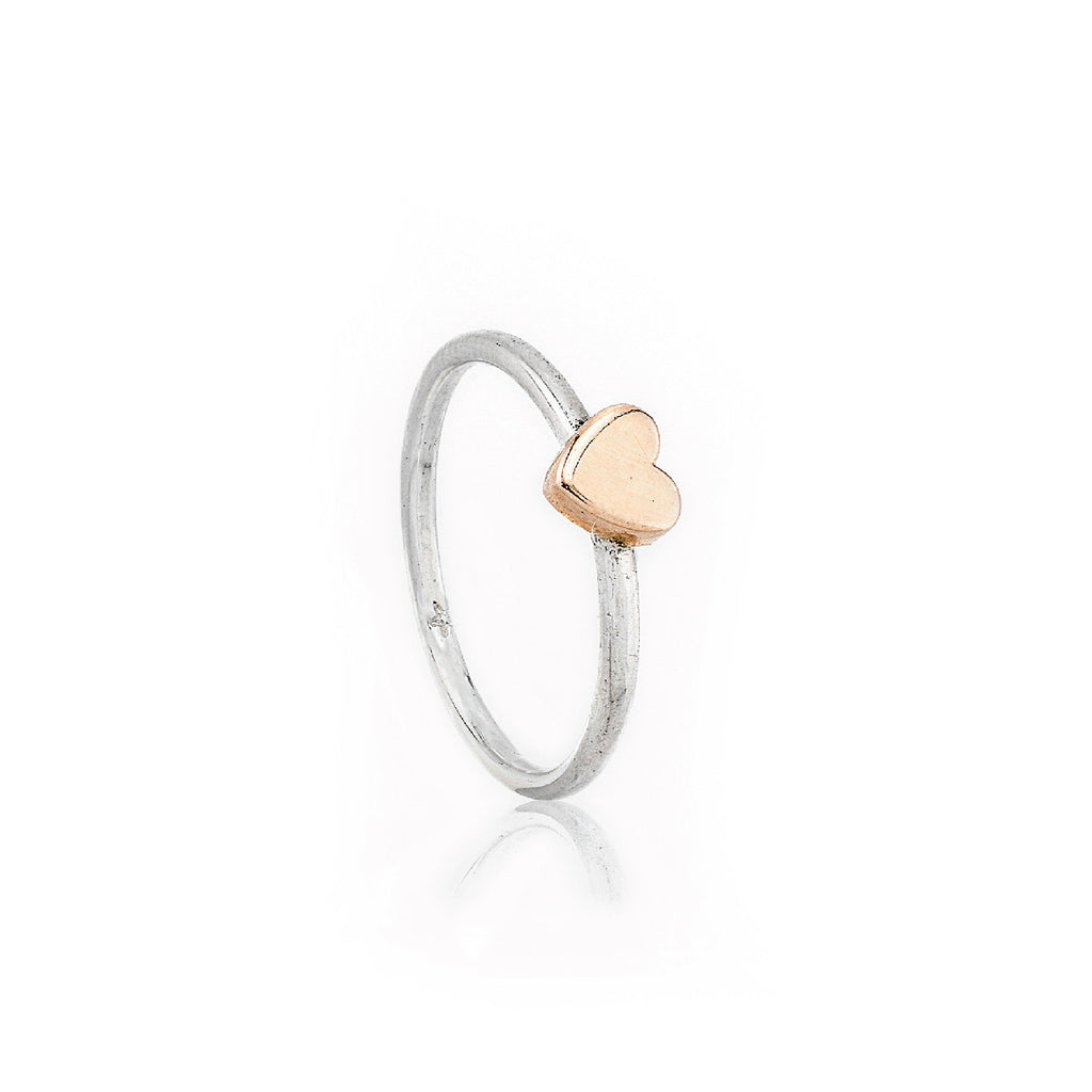 SJK Rocks - Love Heart Stacking Ring