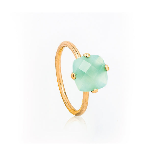 Green Onyx Stacking Ring