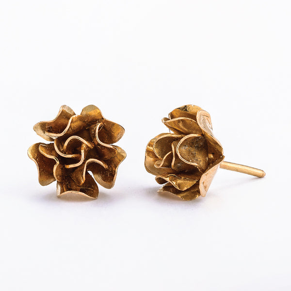 SJK Rocks - Rose Flower Stud Earrings
