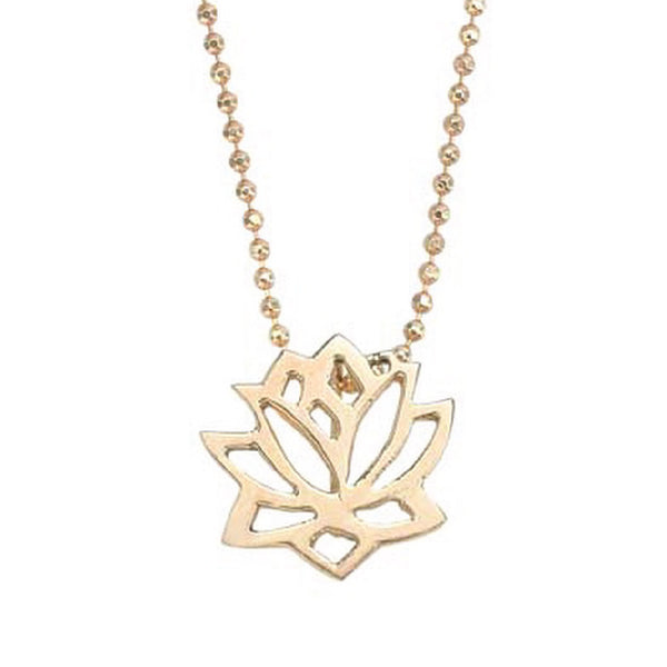 SJK Rocks - Lotus Pendant