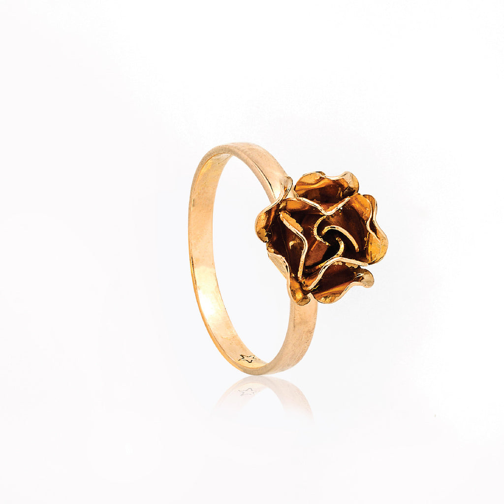 SJK Rocks - Rose Flower Ring