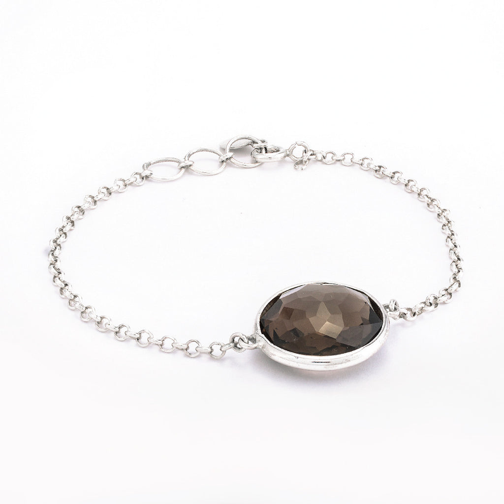SJK Rocks - Dark Smokey Quartz Bracelet