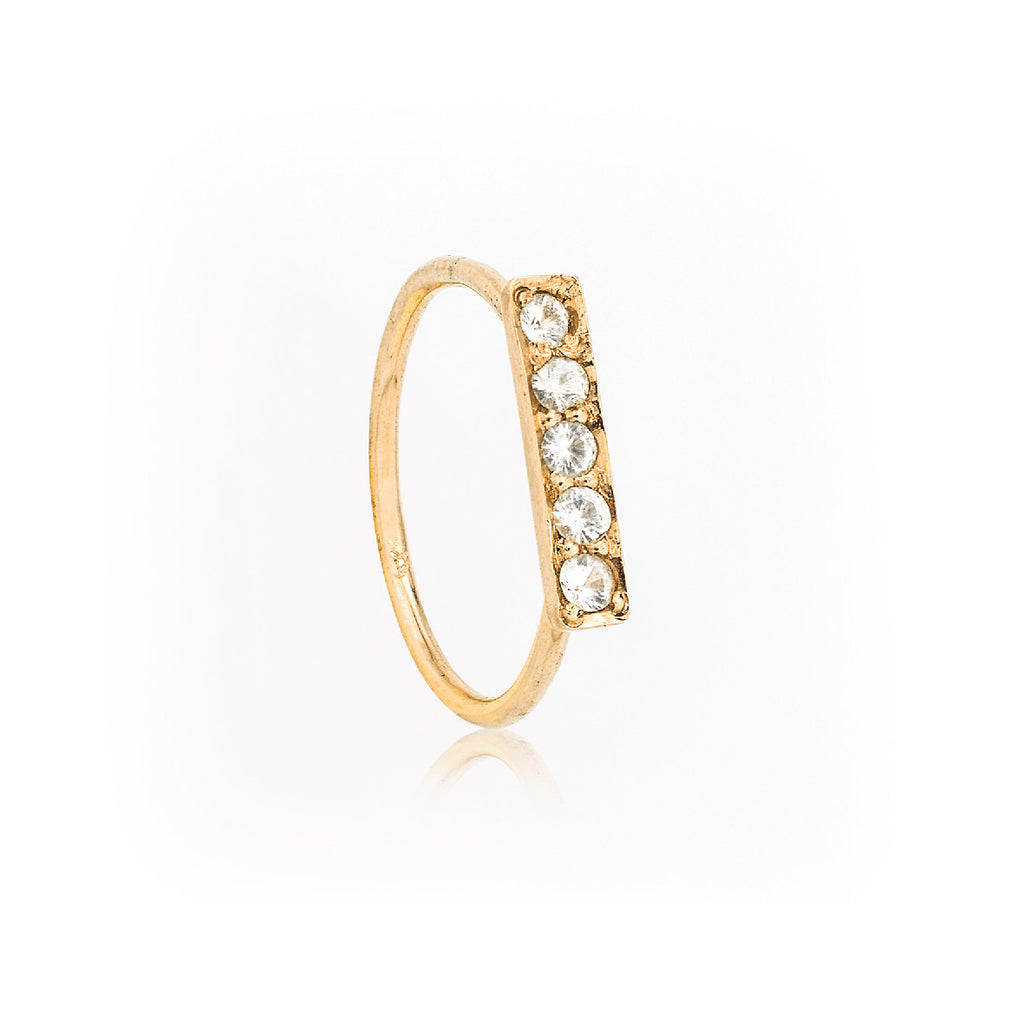 SJK Rocks - Star Line Ring