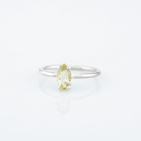 SJK Rocks - Yellow Citrine Stacking Ring