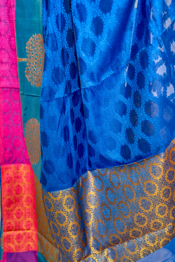 Kora Muslin Soft Silk Saree - Indianloom
