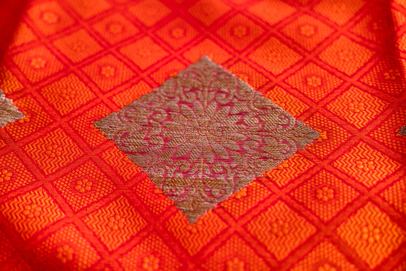 Kora Muslin Silk Saree - Indianloom