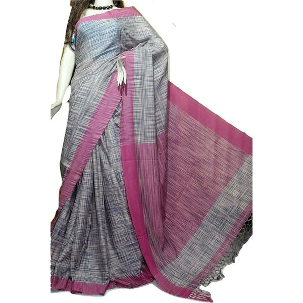 Multi Color Soft Cotton Tie & Dye Saree - Indianloom