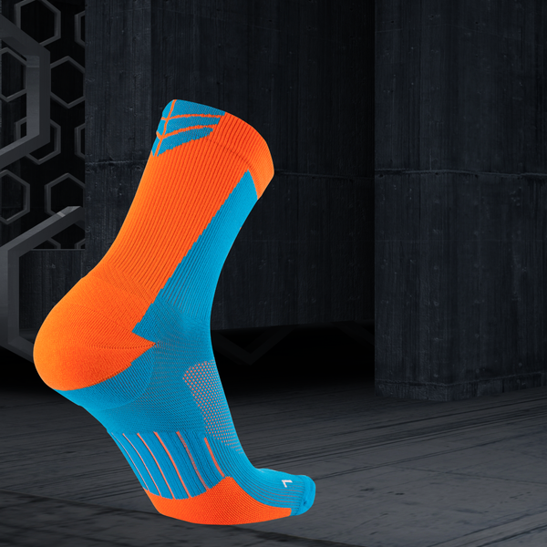 3/4 Shield Cycling Compression Socks