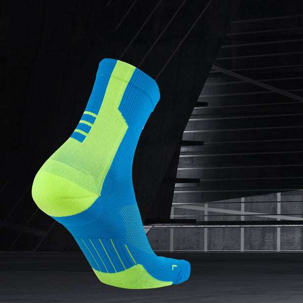Active 3/4 Shift Cycling and Compression Socks