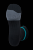 M2O Just Send It Crew Plus Compression Socks - Black/Blue - M2O Industries