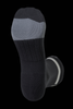 M2O Just Send It Crew Plus Compression Socks - Black / White - M2O Industries