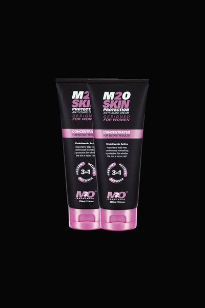 M2O Women's 3 in 1 Anti-Chafing Cream 2 Pack - M2O Industries