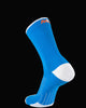 M2O Band Crew Compression Sock - Blue/White - M2O Industries
