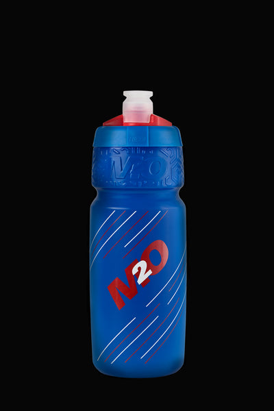 M2O Pilot Water Bottle, 710ml, Blue/Red - M2O Industries