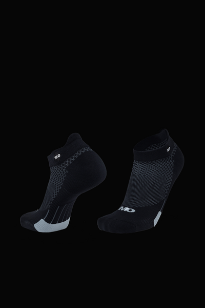 M2O Active Range Diamond Ankle Sock - Black - M2O Industries
