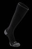 M2O Merino Wool Knee High Compression Sock - Black/Grey - M2O Industries