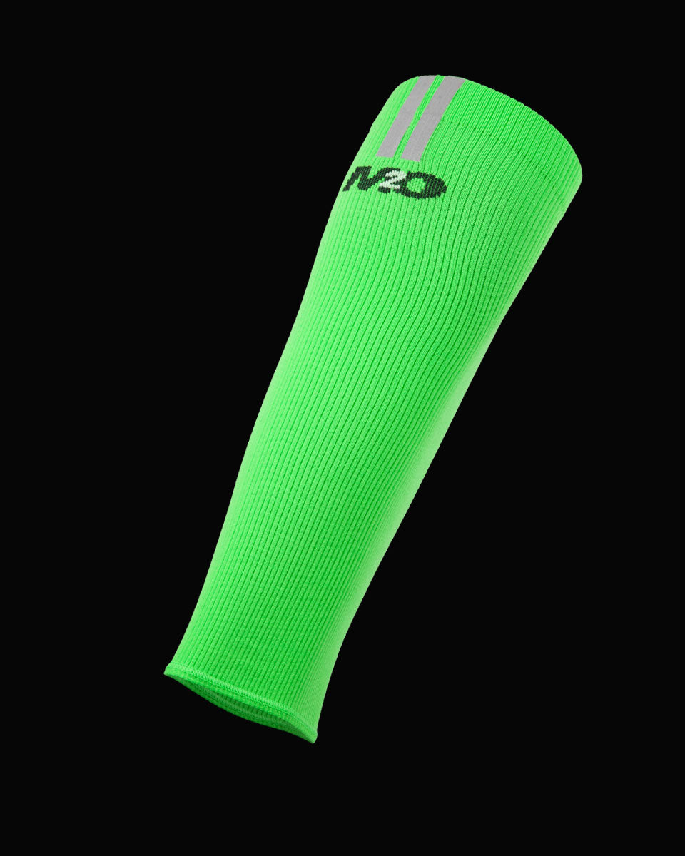 M2O Calf Compression Sleeve - Green - M2O Industries